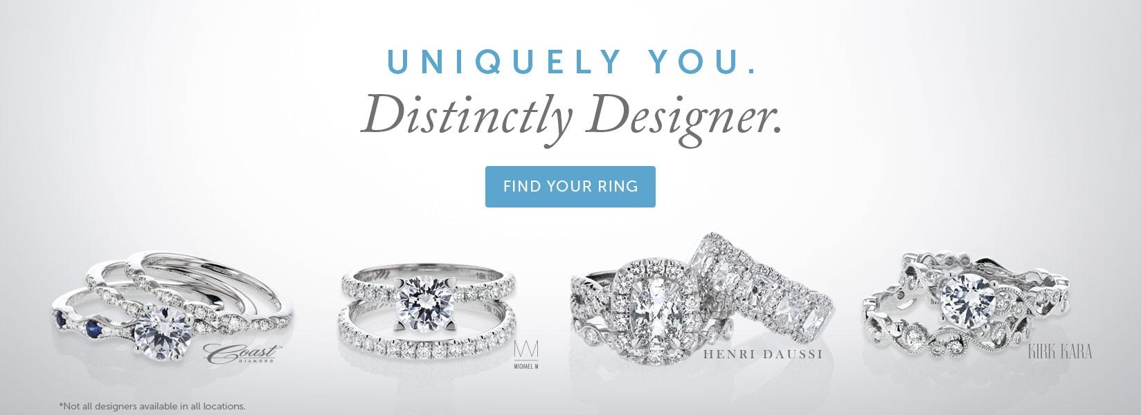 Uniquely You, Distinctly Designer.