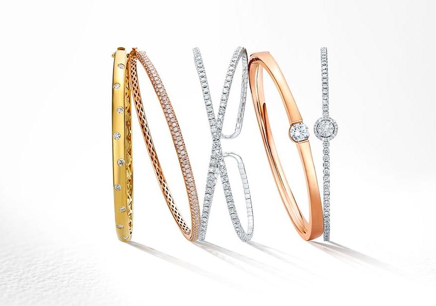 Classic Diamond Jewelry And Bracelets