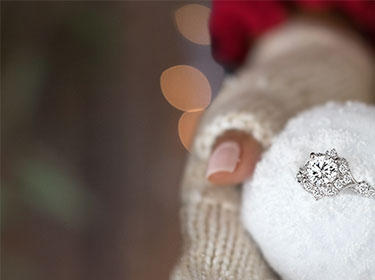 Engagement Diamonds             Rings