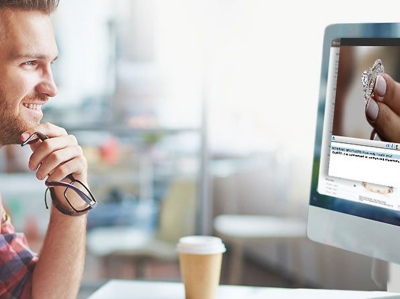 virtual Shopping  Engagement Ring