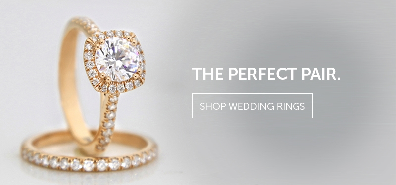 The Perfect Pair. Shop Wedding Rings.