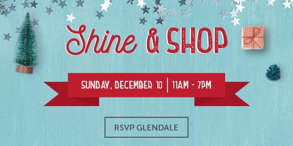 Shin & Shop Event