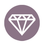 Diamonds section icon