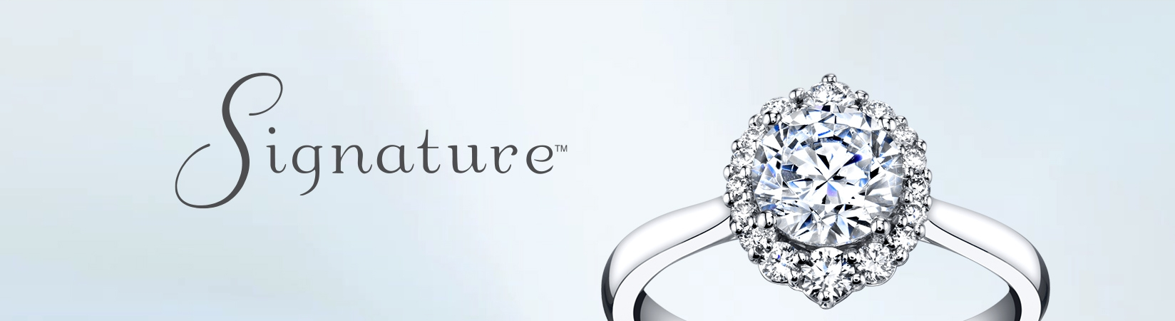 Signature Collection Engagement Rings