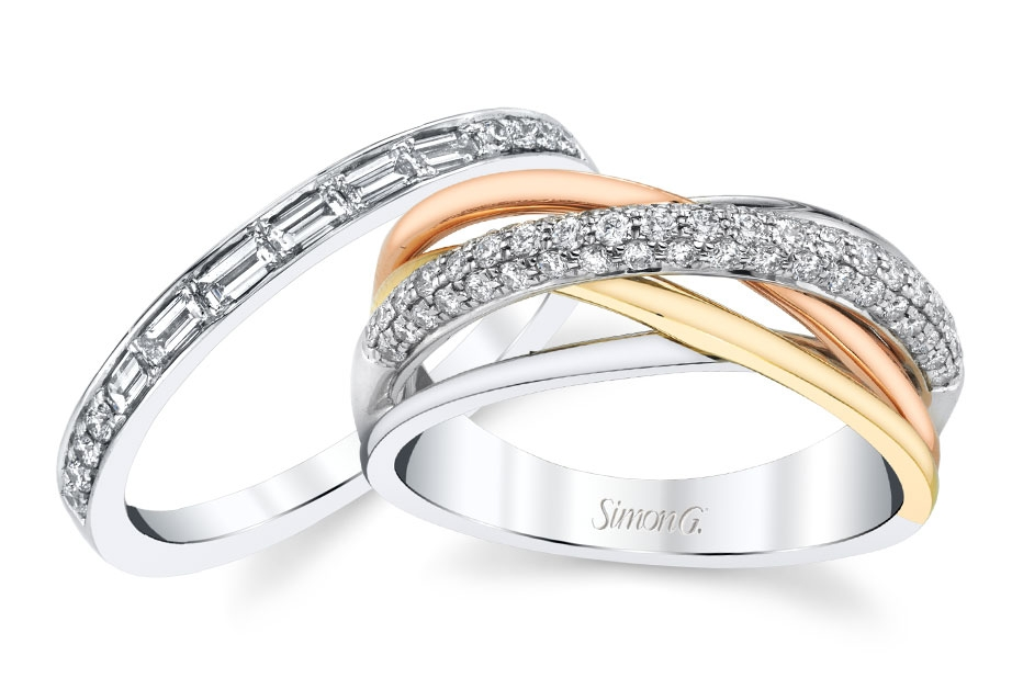 Simon G. Wedding Bands