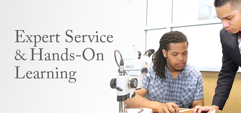Expert Service & Hands-On Learning