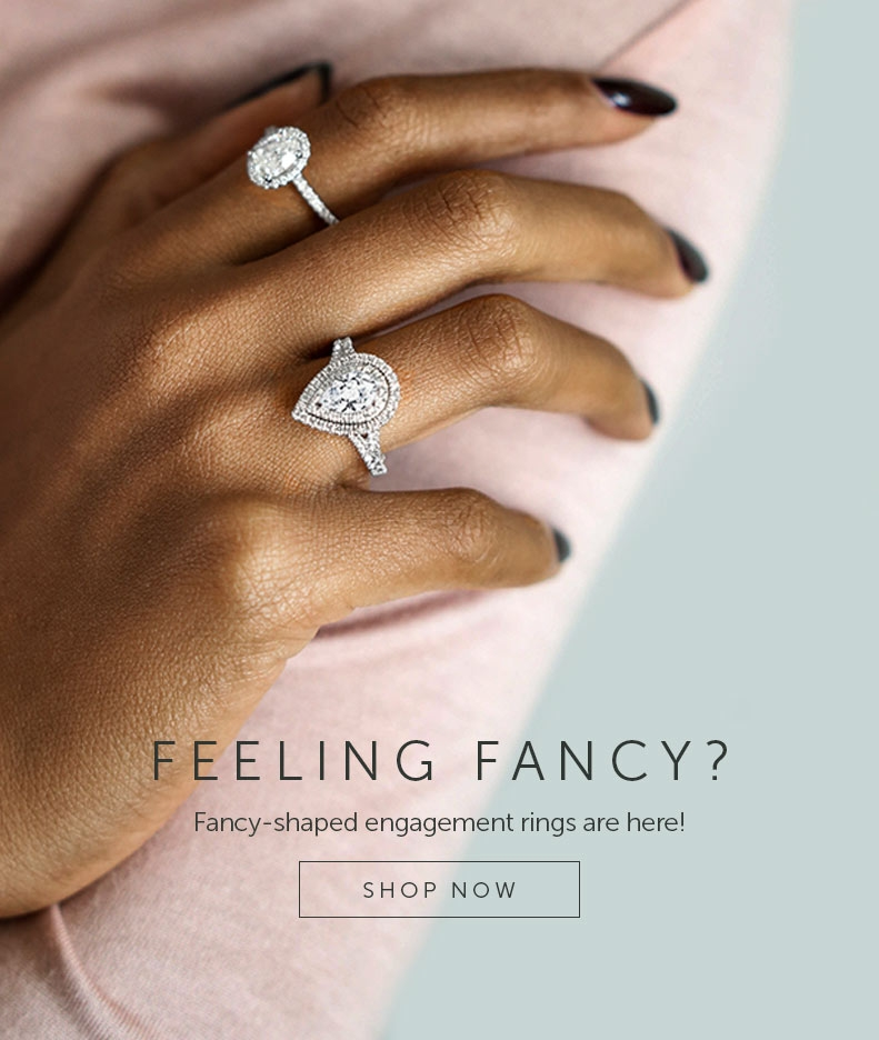 Shop for Princess Cut Engagement Rings