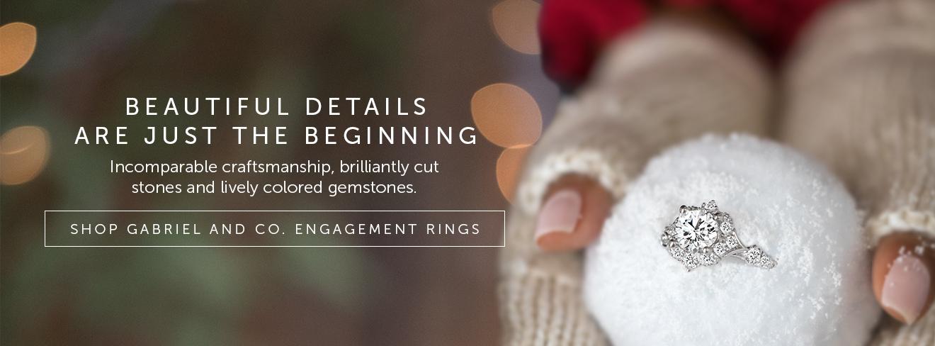 Shop Gabriel Engagement Rings