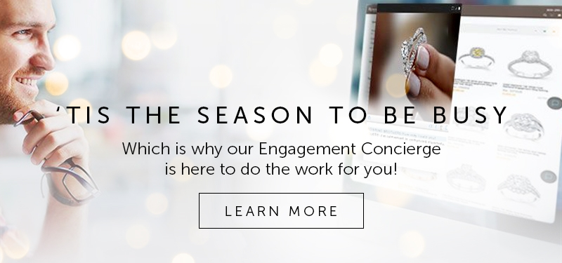 Engagement Ring online or in Person or shop Virtually