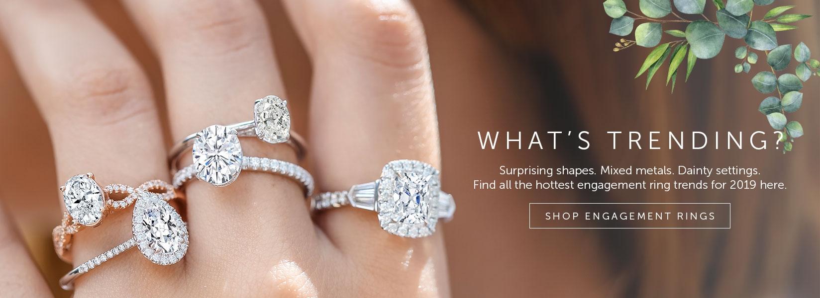 Shop for Princess Cut Engagement Rings