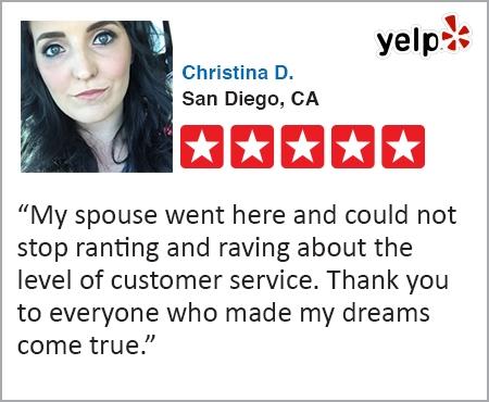 Christina D. San Diego, CA