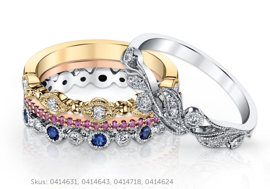 Stacked Ring Ring Image