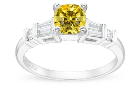 Colored Gemstones - Yellow Sapphire