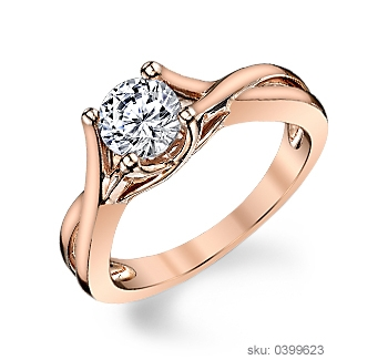 Engagement Ring Metals - Rose Gold