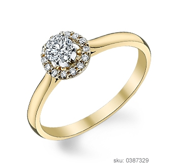 Engagement Ring Metals - Yellow Gold