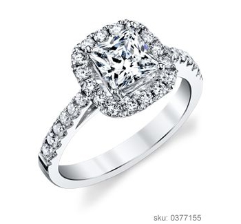 Engagement Ring Types - Halo