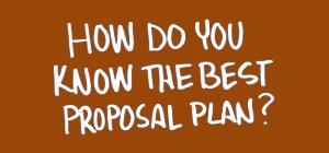 Best Proposal Plans