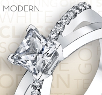 Engagement Ring Styles - Modern Ring Styles