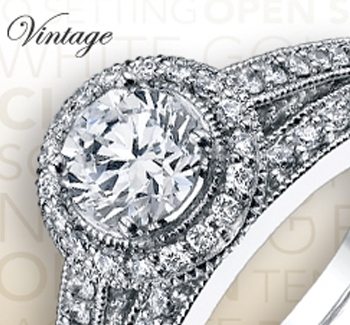 Engagement Ring Styles - Vintage Ring Styles