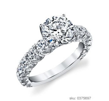 Engagement Ring Types - Side Stone
