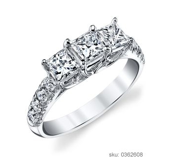 Engagement Ring Types - Three Stone
