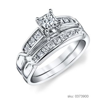 Engagement Ring Types - Wedding Set