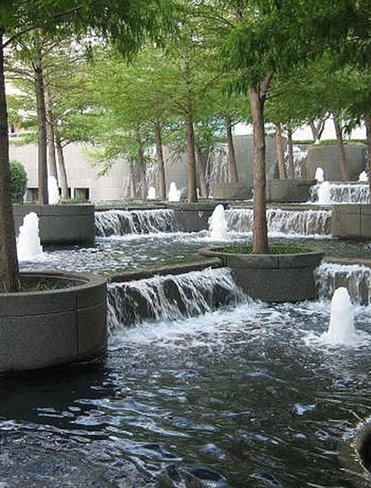 Dallas Waterfall Fountain