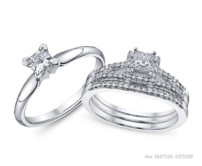 Perfect Princess Cut Engagement Ring Settings