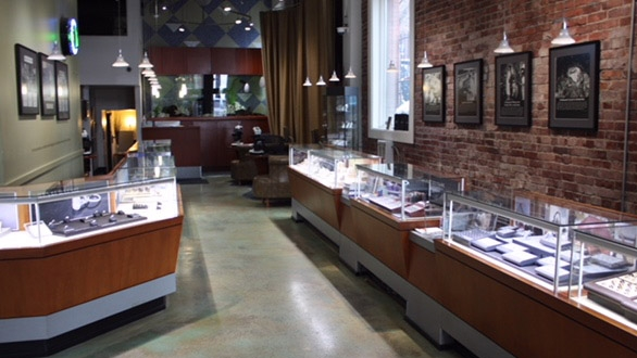 Seattle Store Interior View Two
