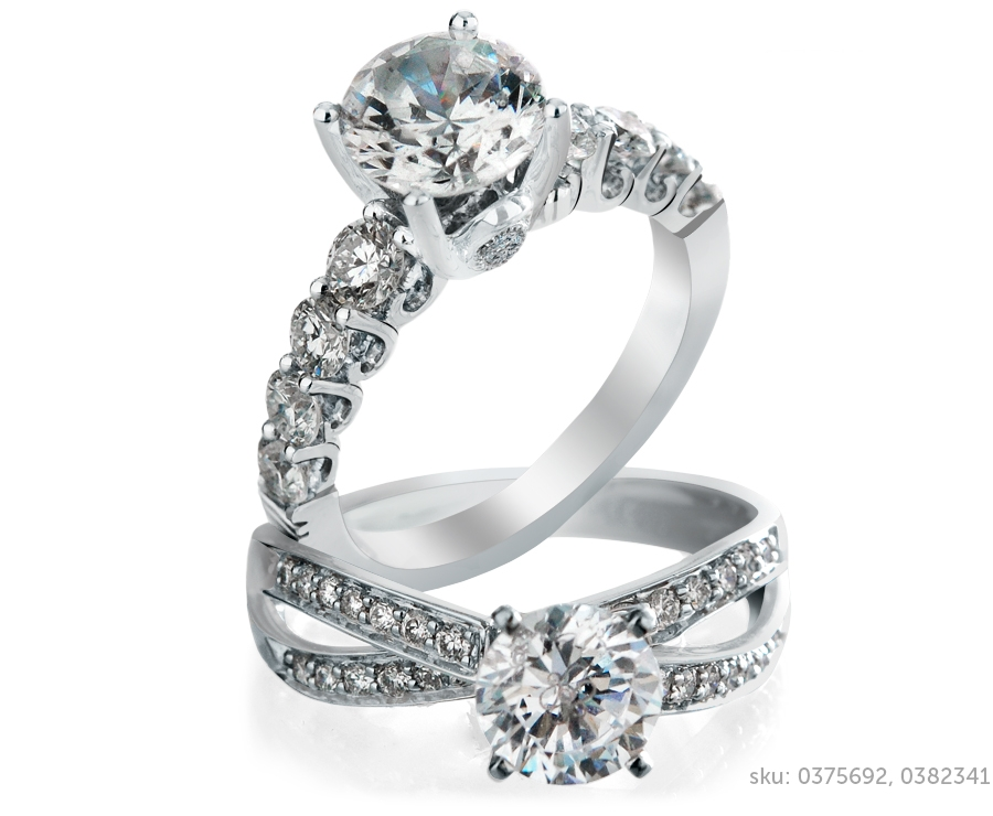 side stone ring
