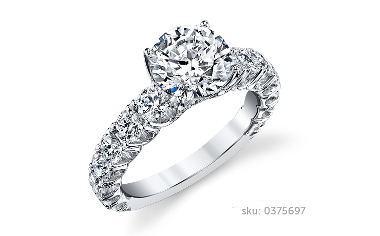 side stone rings - Wedding Ring Types