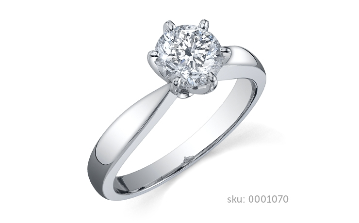 classic solitaire - Types Of Wedding Rings