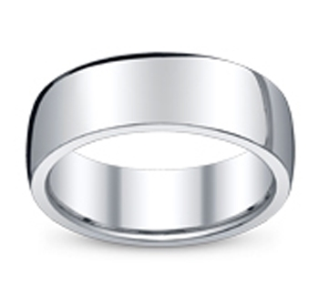 Wedding Ring Metals - Sterling Silver