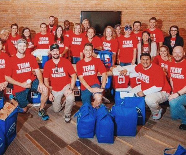 Texas Rangers Community Outreach