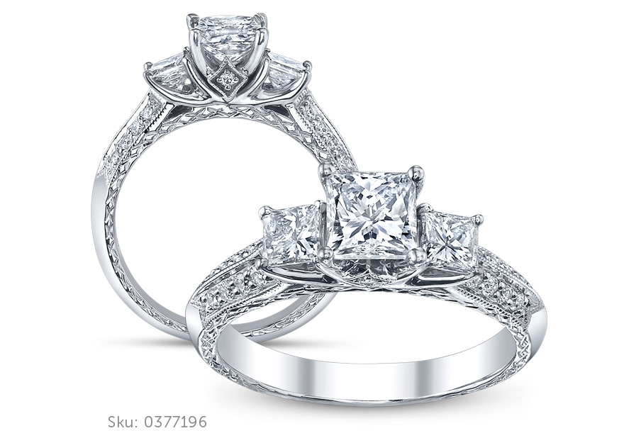 Three Stone Ring Image