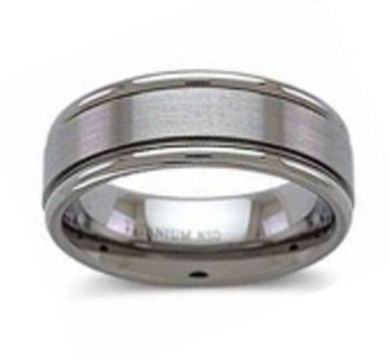 Wedding Ring Titanium