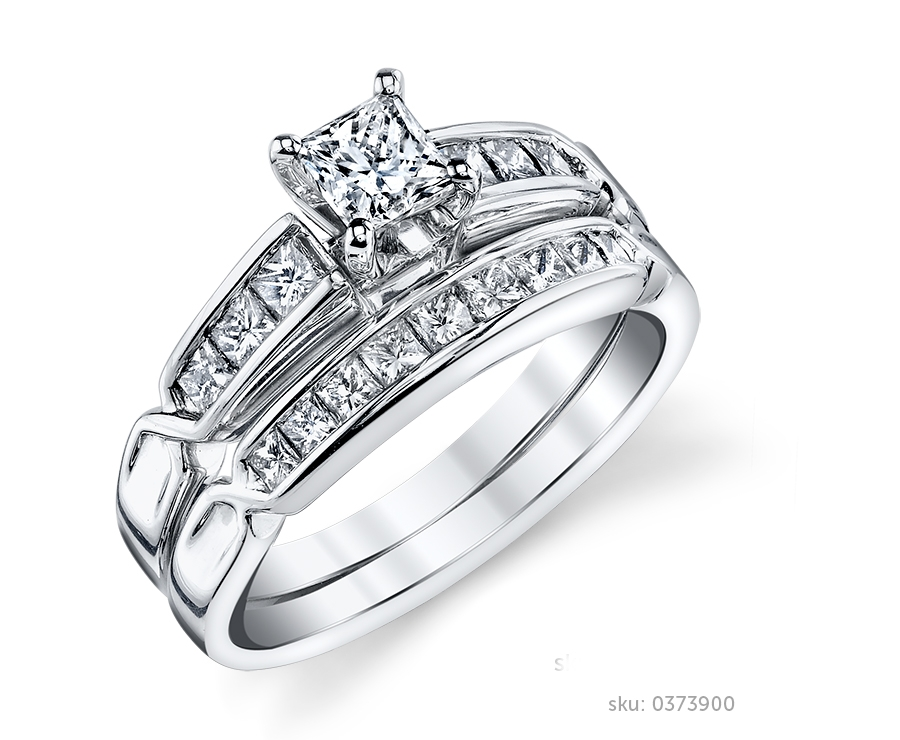ring vidar shop matching wedding jewelry jewellery sets princess set cut diamond