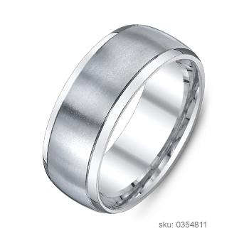 Wedding Band Types - Comfort Fit