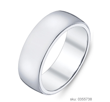 Wedding Ring Flat Band
