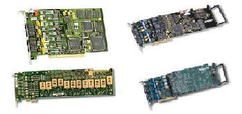 8-port PBX integration board, PCIe