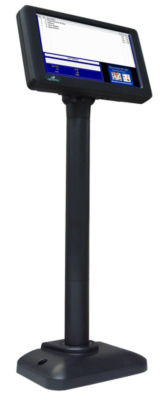 USB 7 LCD POLE DISPLAY,LED, 800X480, USB