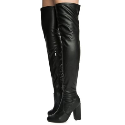 Women's Namaste-03M Thigh High Boots