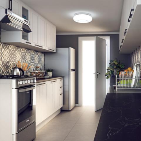 Iluminación de Baño y Cocina