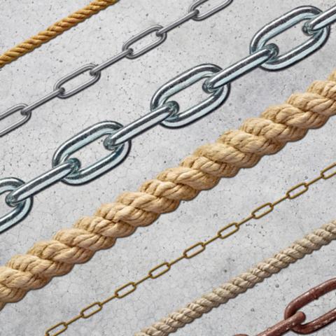 Cadenas, Cuerdas y Accesorios