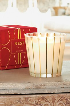 Nest 3-Wick Holiday Candle