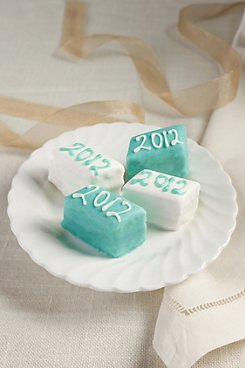 New Year's 2012 Petits Fours