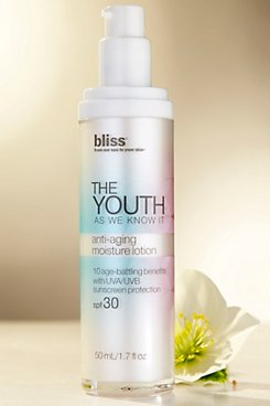Bliss The Youth as We Know It Anti-Aging Moisture Lotion SPF30
