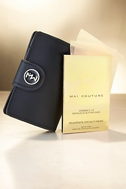 Mai Couture Vitamine C & E Oil Blotting Papiers and Wallet