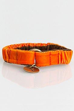 Velvet Designer Dog or Cat Collar