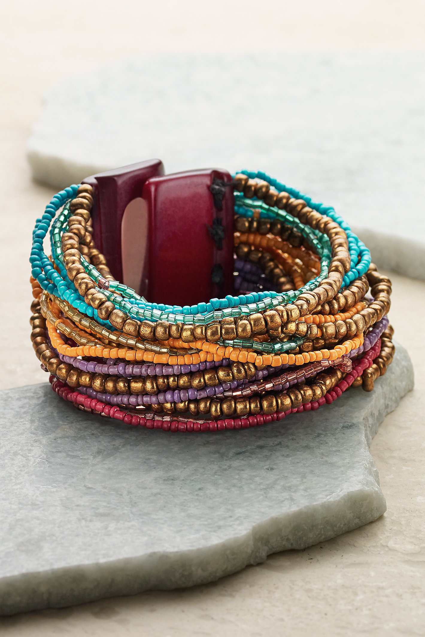 LAYERS OF COLORS BRACELET